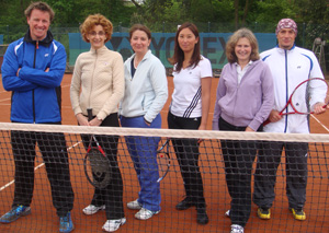 Tennistraining Tennisacademy Ladies Morning Düsseldorf Lohausen Spencer